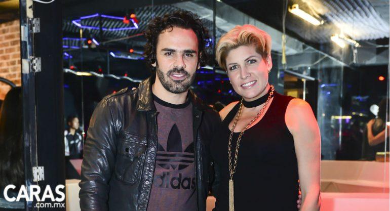Pepe Díaz y Paulina Díaz Ordaz inauguran Gym Beatness en Bosques