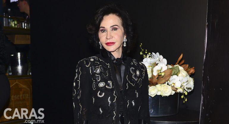 Pepita Serrano en la gala de los 15 años de la fundación Niños en Alegría