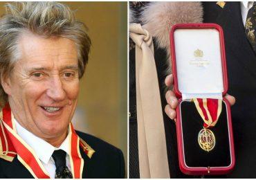 Príncipe William nombra Sir a Rod Stewart