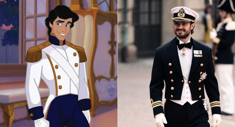 Príncipes de Disney vs Príncipes reales