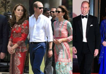 Primer día de los Duques de Cambridge en la India