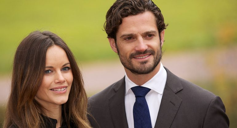 Primera foto del hijo de los príncipes Carlos Felipe y Sofía de Suecia