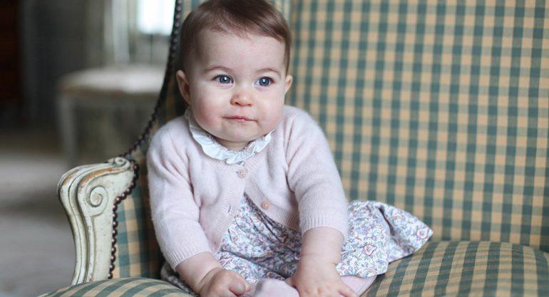 Princesa Charlotte: la bebé más elegante del Reino Unido