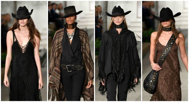 Ralph Lauren lleva el Viejo Oeste al NY Fashion Week