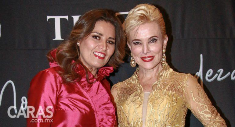 Raquel Bessudo en el desfile de moda de Sara García