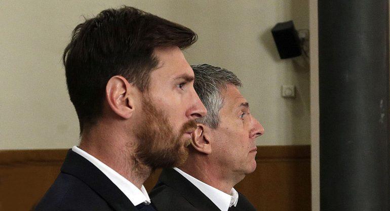 Ratifican condena de 21 de meses de cárcel a Lionel Messi