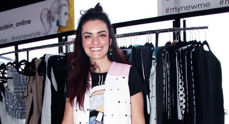 Rebeca Maccise en el lanzamiento de Made In