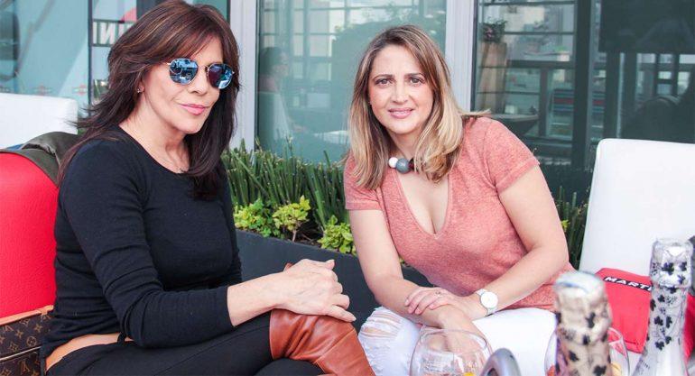 Rebecca Jones disfrutó del Gran Premio de México en la Terraza Martini