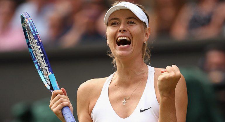 Reducen sanción a Maria Sharapova