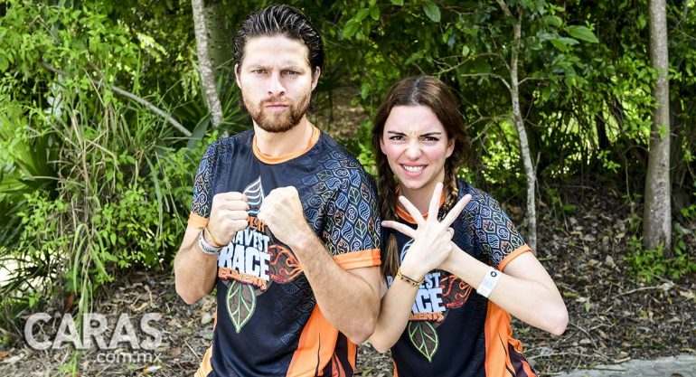 Regina Blandón y Eddy Vilard unos guerreros en el Xplor Bravest 2017