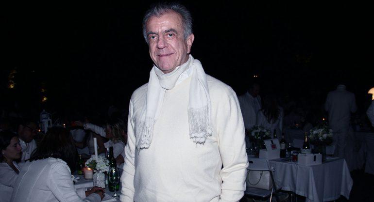 "Rodrigo Rivero Lake en ""Le Diner en Blanc"""