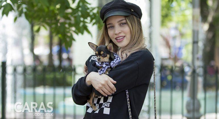 Rosshanna Bracho en la convivencia Pets&Vans
