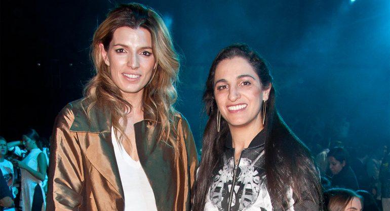 Sara Galindo y Soumaya Slim en el Fashion Week México