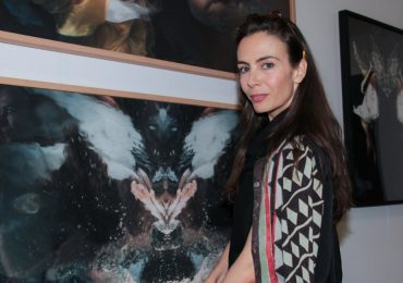 Sasha Sokol presente en Zona Maco