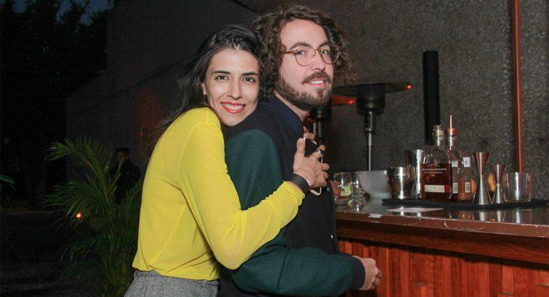 Sofía Ordaz y Andrés Aguilar en la primera edición de 'Fónico'