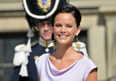 Sofia Hellqvist en su primer evento como princesa