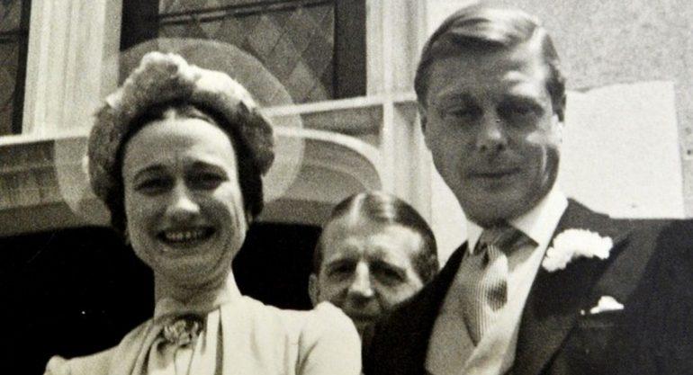 Subastan fotos de la boda del Duque de Windsor y Wallis Simpson
