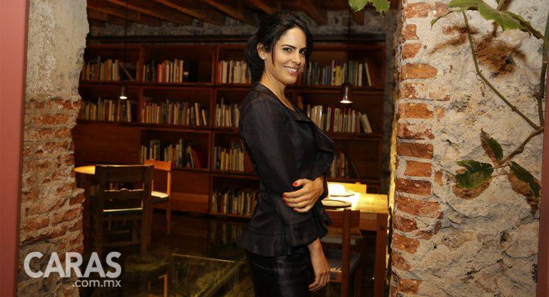 Tatiana Ortiz Monasterio en el cóctel de la subasta Casa Prieto Barragán