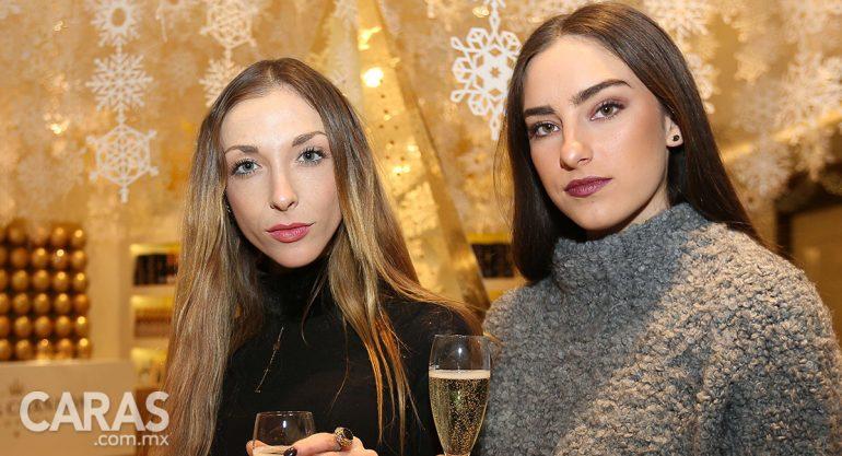 Thalia Pier y Mariana Giner en la apertura del pop up store de Moët & Chandon