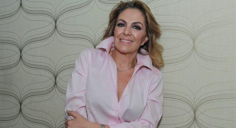 Tita Marbez en la fiesta de cumpleaños de Víctor Sánchez