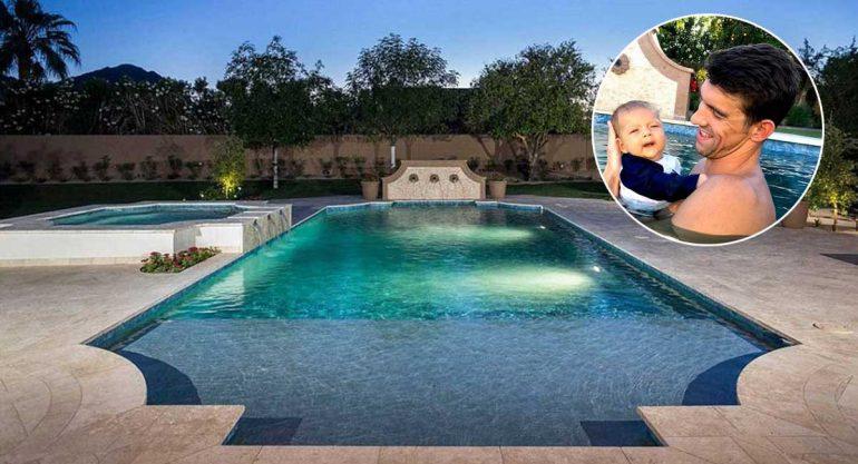Un recorrido por la lujosa mansión Michael Phelps