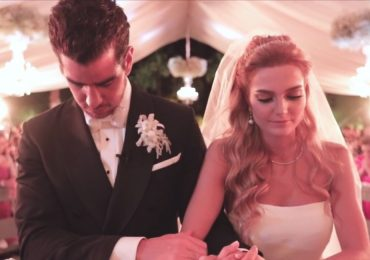 VIDEO: La inolvidable boda de Alejandro Valladares y Miriam Huber