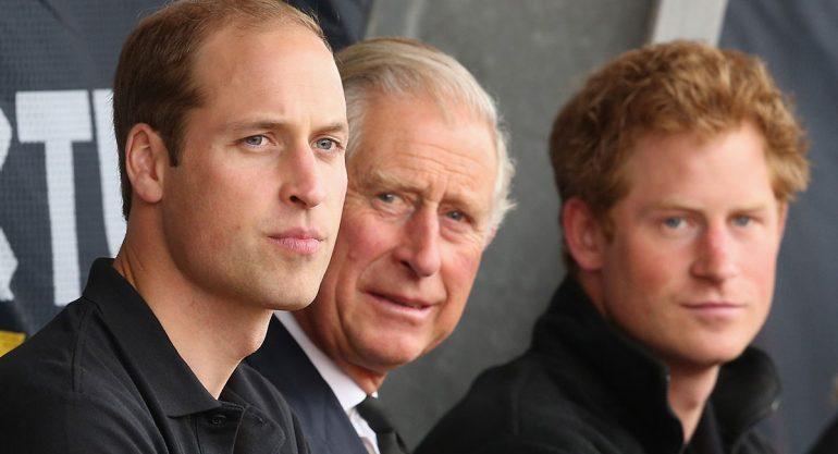 William y Harry revelan secretos del príncipe Carlos