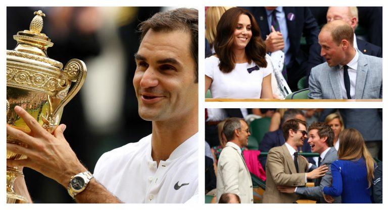 Wimbledon reúne a la realeza