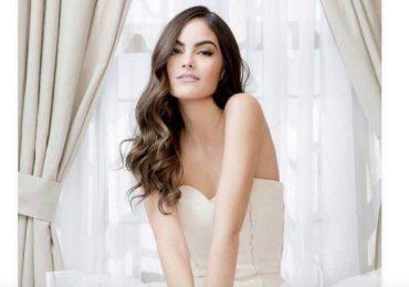 Ximena Navarrete elige un Benito Santos para su boda