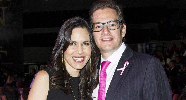 Yona y Salomón Chertorivski en el 20 aniversario de la joyería 'Nice'