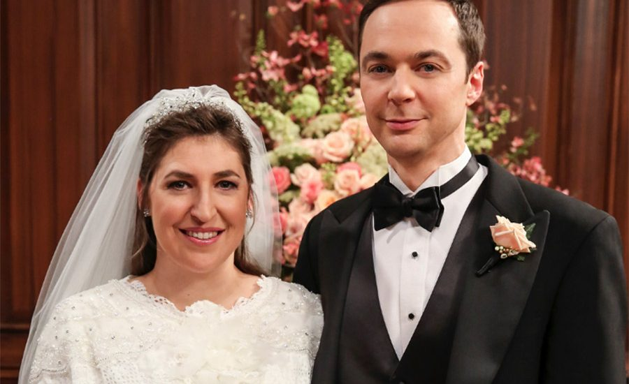 Amy y Sheldon, la boda