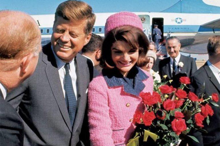 Jackie Kennedy y John F. Kennedy