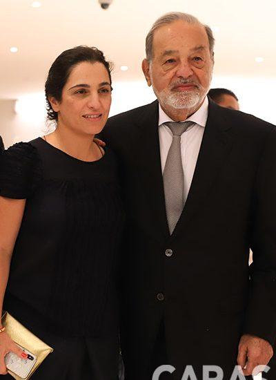 Soumaya Slim y Carlos Slim