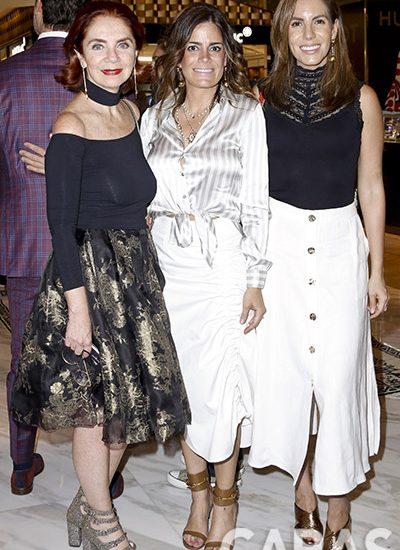 Lisette Trepaud, Sofia Karam e Ivette Ortiz
