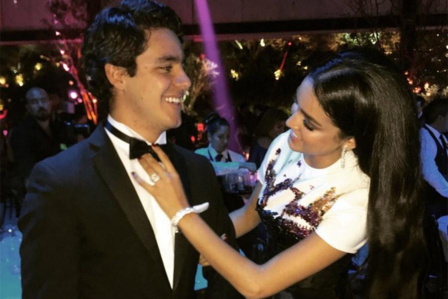 Alejandra Capetillo y su hermano Eduardo
