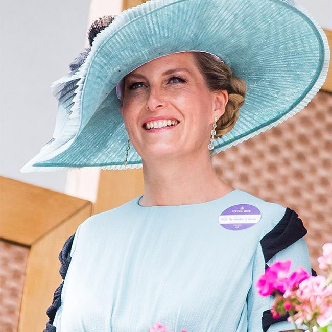 La nueva favorita de la reina isabel, la condesa de wessex