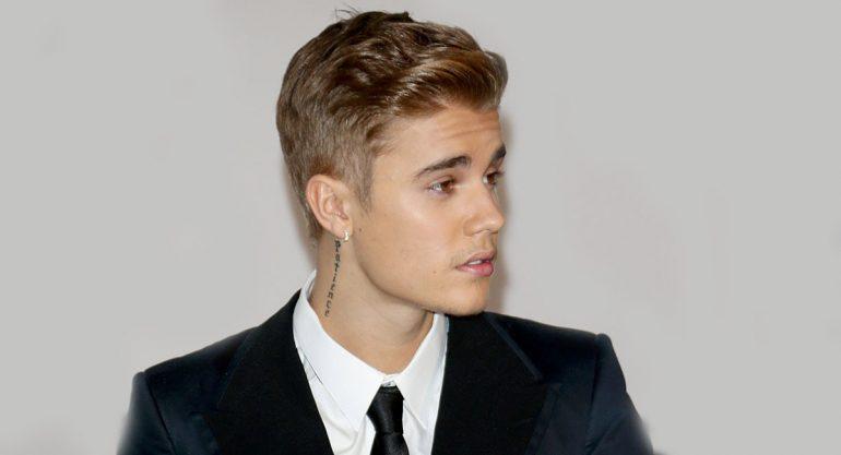 Justin Bieber mensaje