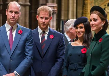 los duques de Cambridge y Sussex