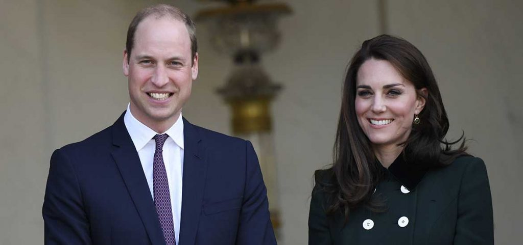 Príncipe William y Kate Middleton.