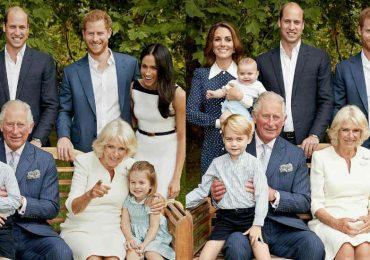 La Familia Real realeza británica