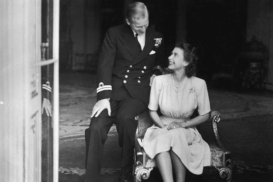 príncipe Felipe queen