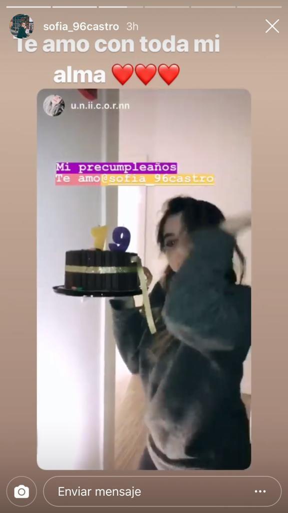 Fernanda castro celebra