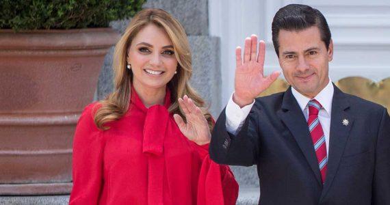 Primera Dama Angélica Rivera y Enrique Peña Nieto