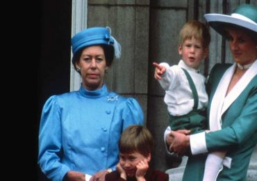 Princesa Margaret y Lady di