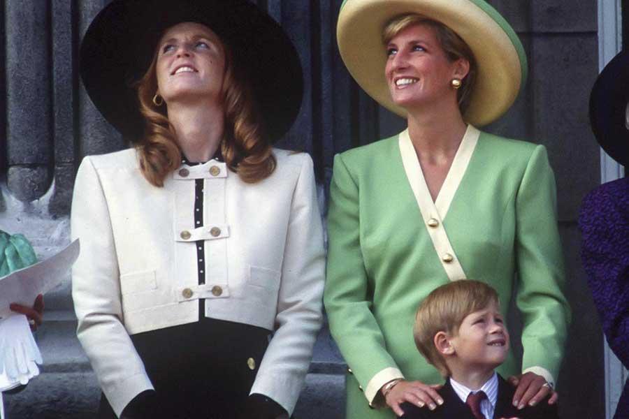 Sarah Ferguson y Diana de Gales