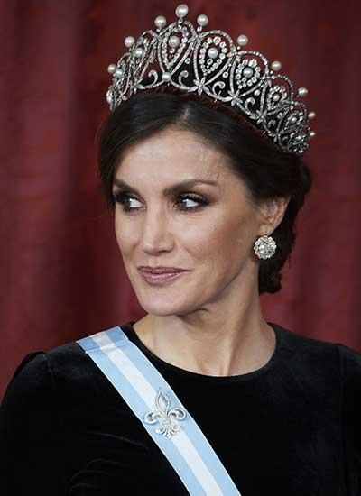 La tiara de la reina Letizia