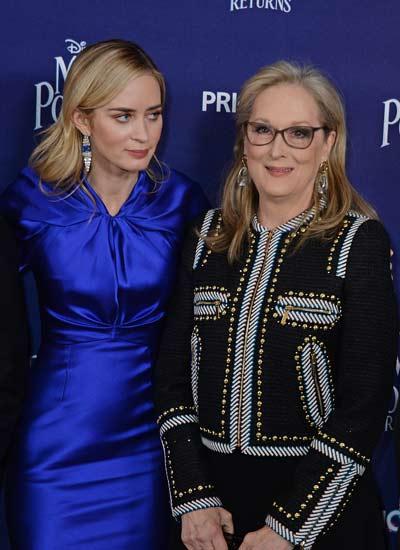 Meryl Streep y Emily Blunt