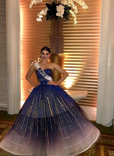 Miss Universo Andrea Toscano