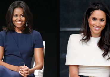Michelle Obama y Meghan Makle