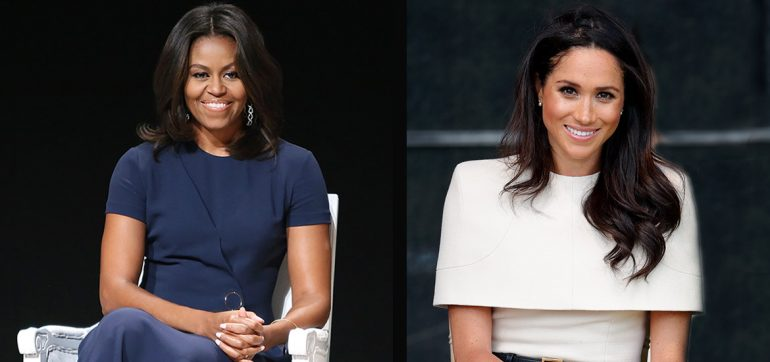 Michelle Obama y Meghan Makle